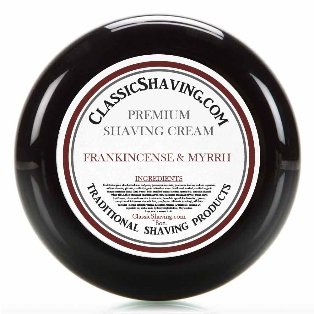 Frankincense & Myrrh - Classic Shaving Cream