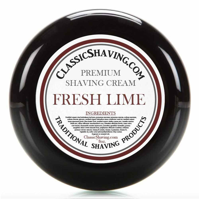Fresh Lime - Classic Shaving Cream
