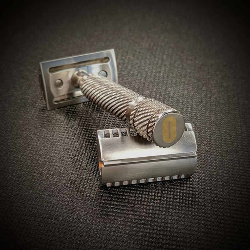 Occam's Razor 24k Gold Inlaid Safety Razor