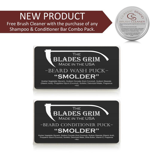 Grim Blades - Beard Wash & Conditioner Puck Combo