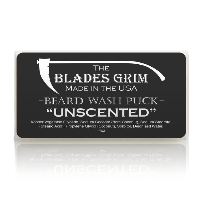 Grim Blades - Beard Wash Puck