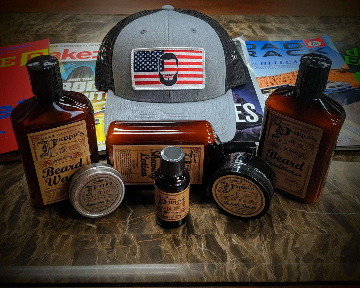 Pappy's Beard Care Kit