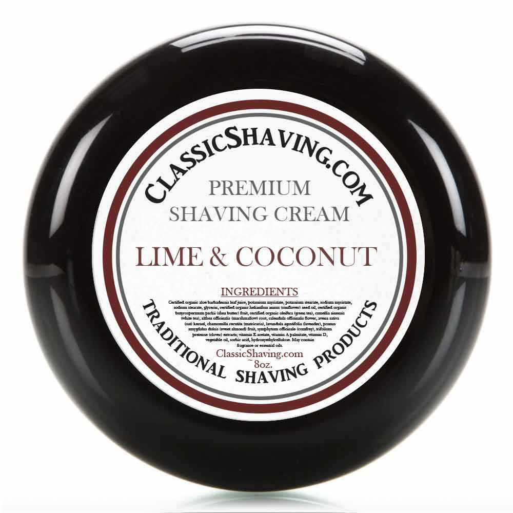 Lime & Coconut - Classic Shaving Cream