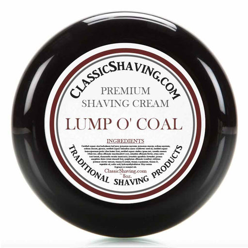 Lump O' Coal - Classic Shaving Cream
