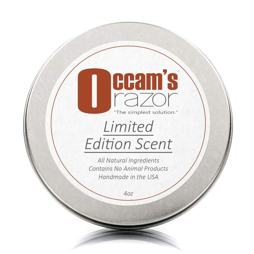 "Limited Edition Scent- Occam's Razor 3"" Shave Soap"