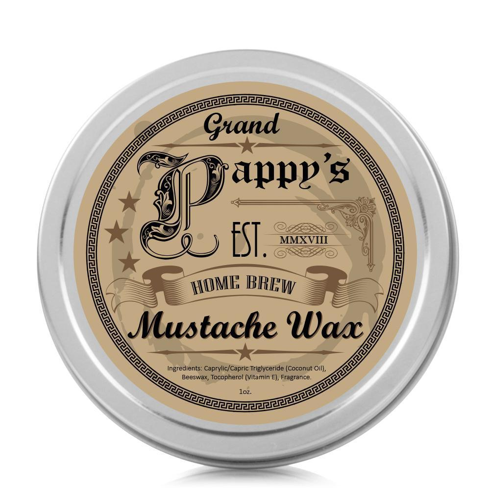 Grand Pappy's Mustache Wax