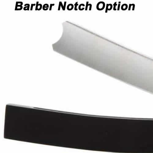 Hart Steel 5/8 Straight Razor, Satin Finish, Round Point