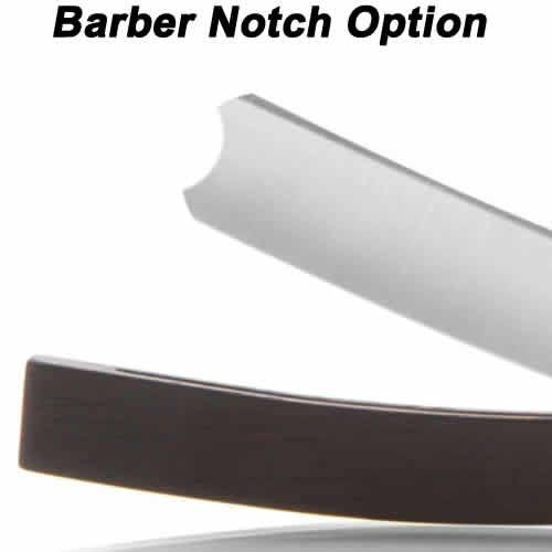 Hart Steel 6/8 Satin Finish Round Point Straight Razor