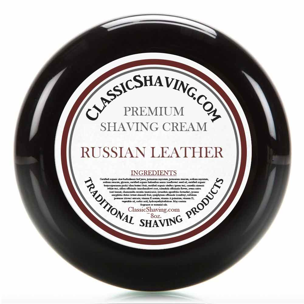 Russian Leather - Classic Shaving Cream