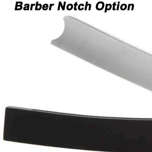 Hart Steel 5/8 Straight Razor, Satin Finish, Square Point