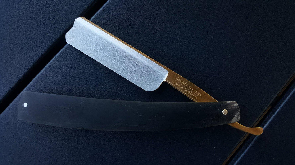 Straight American - Golden Horn Razor