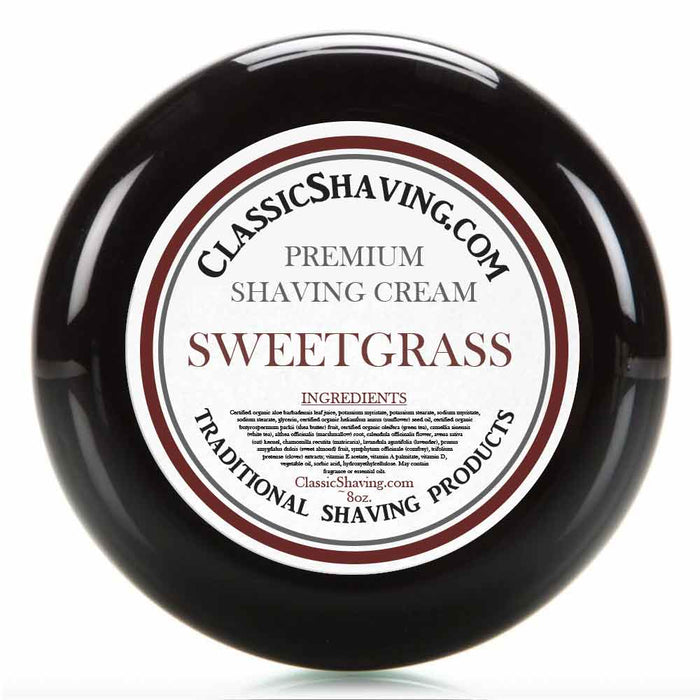 Sweetgrass - Classic Shaving Cream