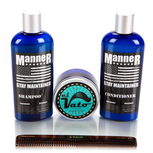 Manner Total Hair Care Kit PLUS