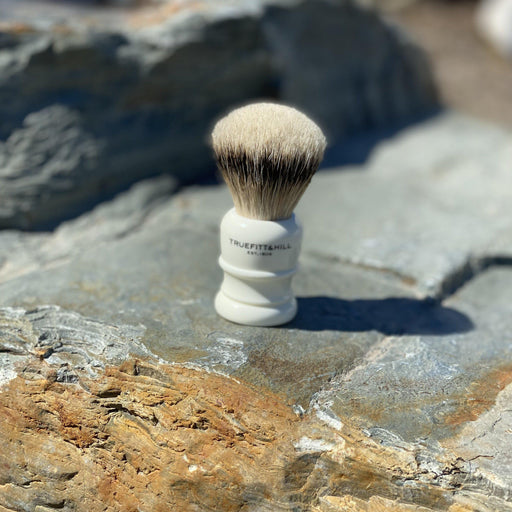 "Truefitt & Hill Shaving Brush ""Silvertip Badger"" - Ivory"