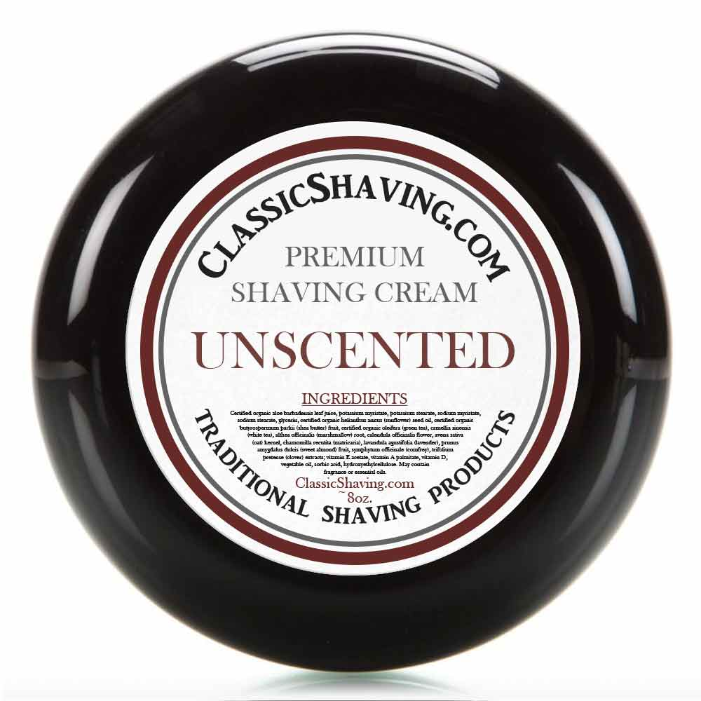 Unscented - Classic Shaving Cream