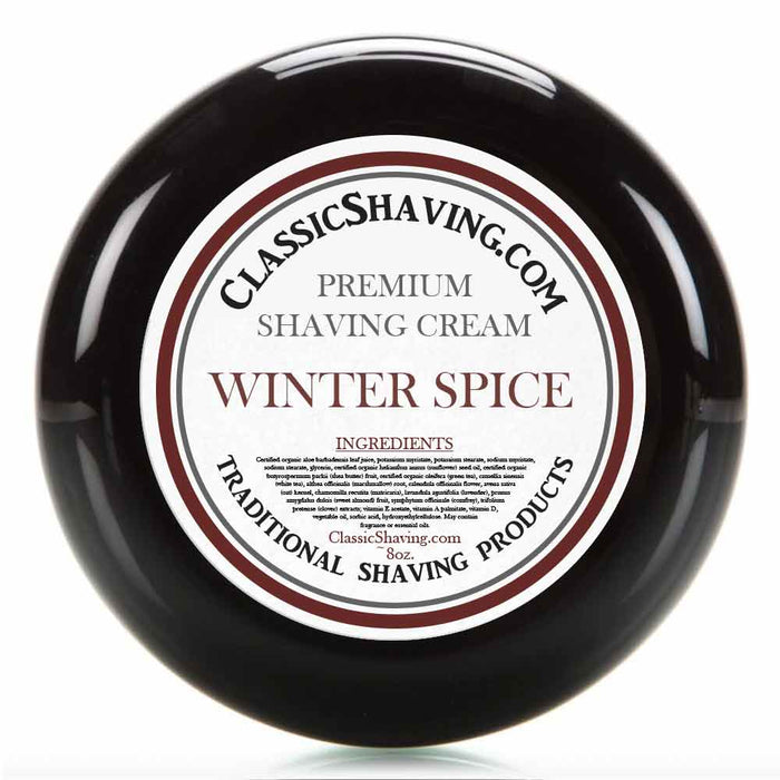 Winter Spice - Classic Shaving Cream