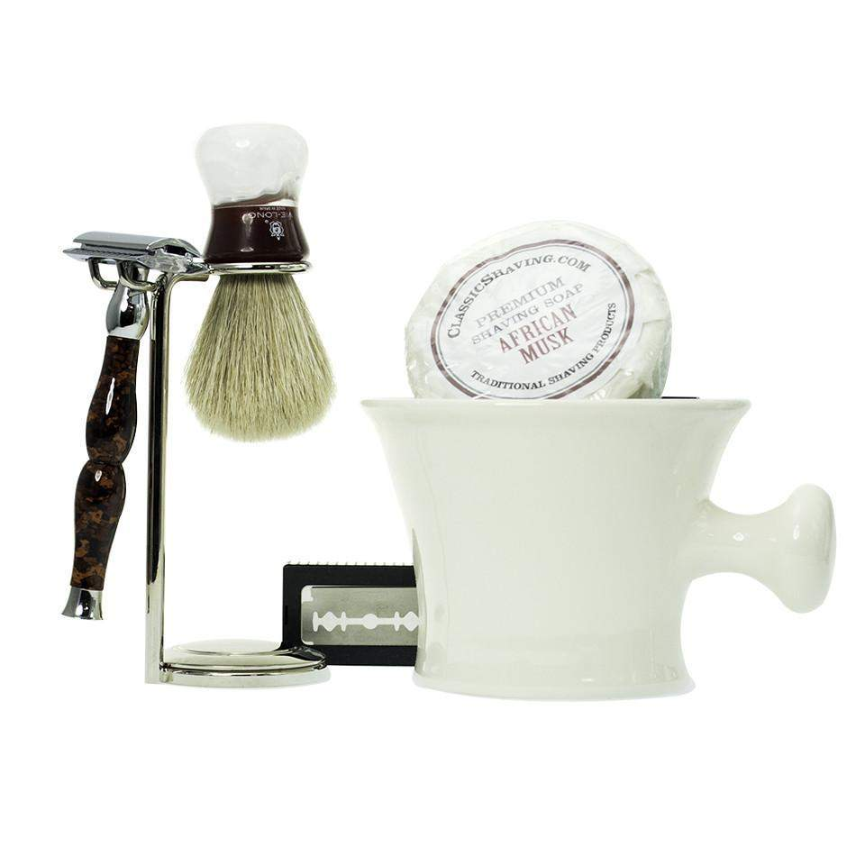 Apotheca Style Safety Razor Set (Monograming Included)-
