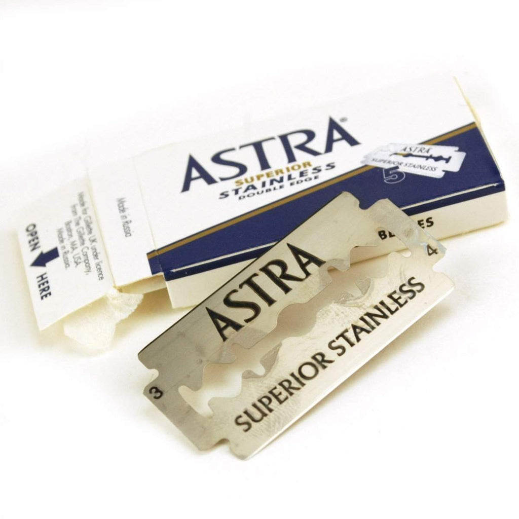 Astra Platinum Double Edge Blades - 5 pack-