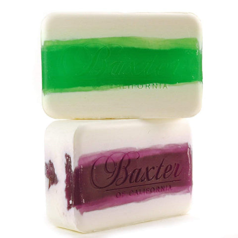 Baxter of California's Vitamin Cleansing Bars-Bergamot and Pear Essence