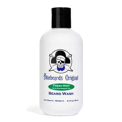 Bluebeard's Fresh Mint Beard Wash - 8oz-