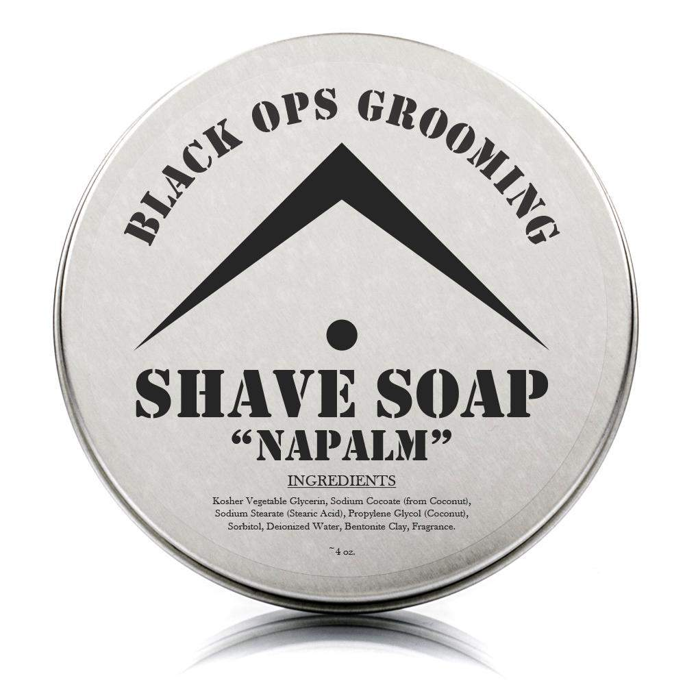 "BOG - Luxury Shaving Soap - ""Napalm""-"