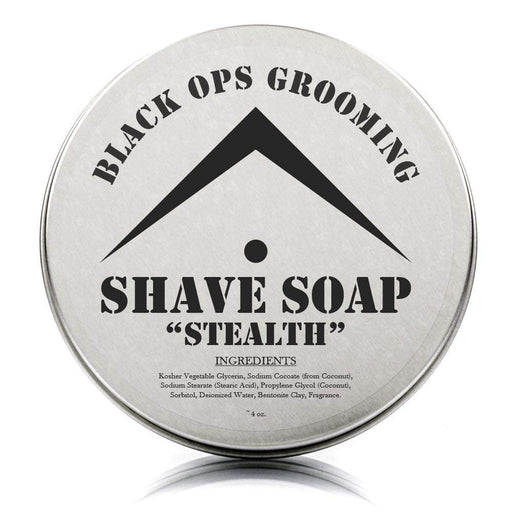 "BOG - Luxury Shaving Soap - ""Stealth"" (Unscented)-"