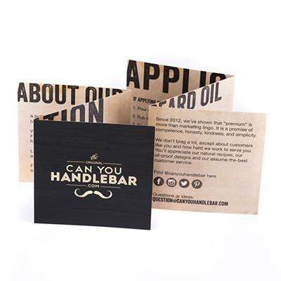 Can You Handlebar Beard Dry Oil-