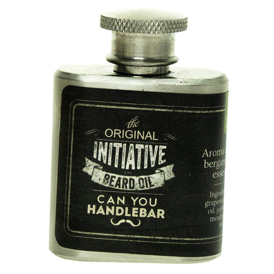 Can You Handlebar Beard Oil in Mini Flask-Wisdom
