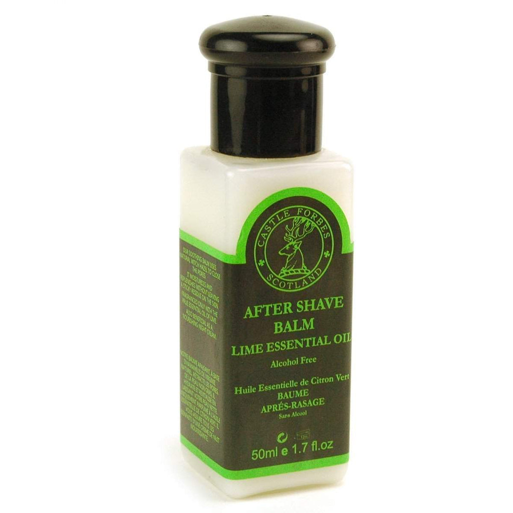 "Castle Forbes Collection - Essential Oil Aftershave Balms - ""TSA Approved""-Lime"