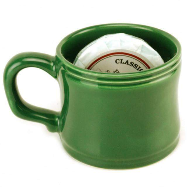 Classic Brand Shorty Shaving Mug-St. Patty's Green-