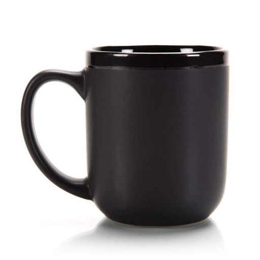 "Classic ""New School"" Black Shaving Mug With Soap-"