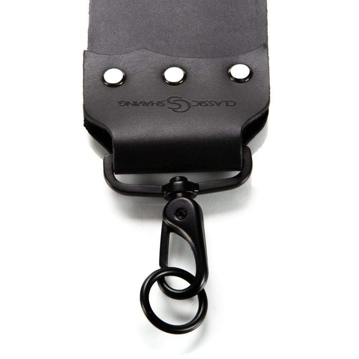 "Classic Shaving - 3"" Black Single Razor Strop-"