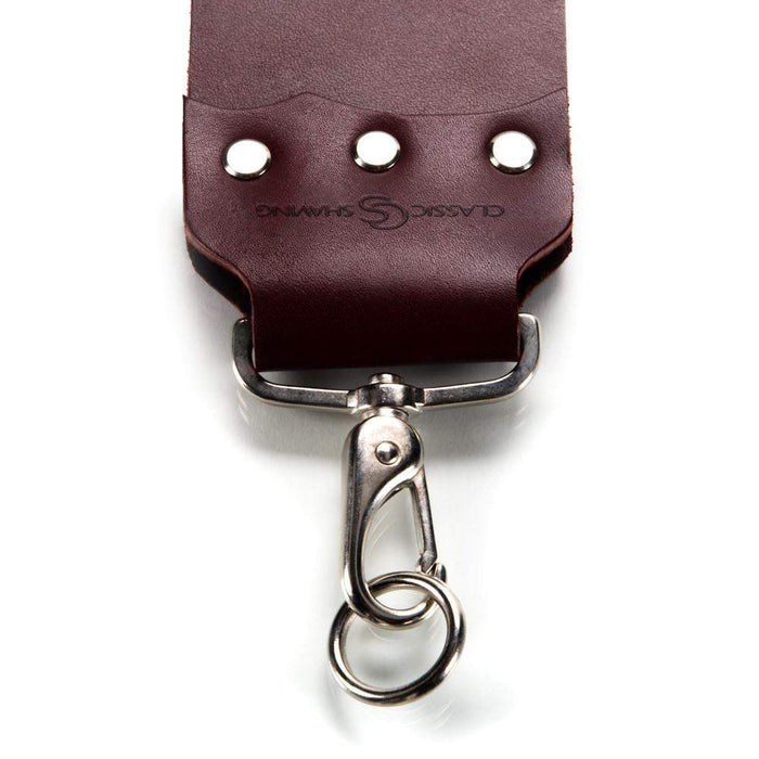 "Classic Shaving - 3"" Mahogany Single Razor Strop-"