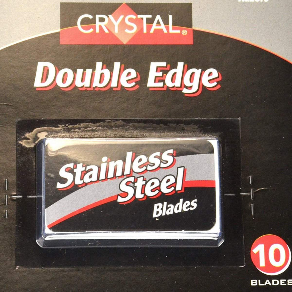 Crystal Double Edge Blades -10 pack-