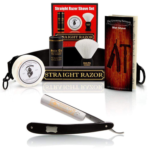 "DOVO 5/8"" ""Astrale"" Straight Razor with Luxury Shave Set-"