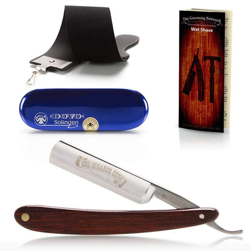 Dovo 5/8 Straight Razor - Cocobolo Wood Scales-