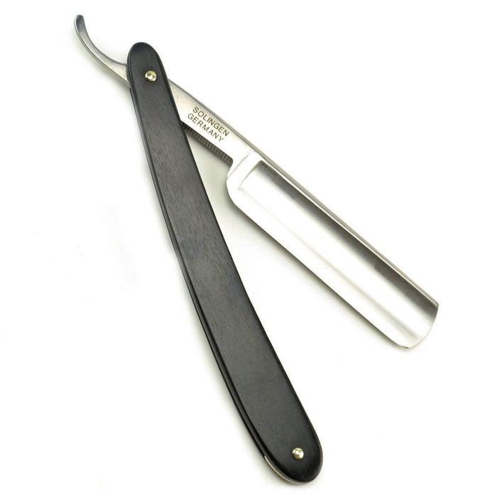 DOVO 5/8 Straight Razor, Ebony Scales-