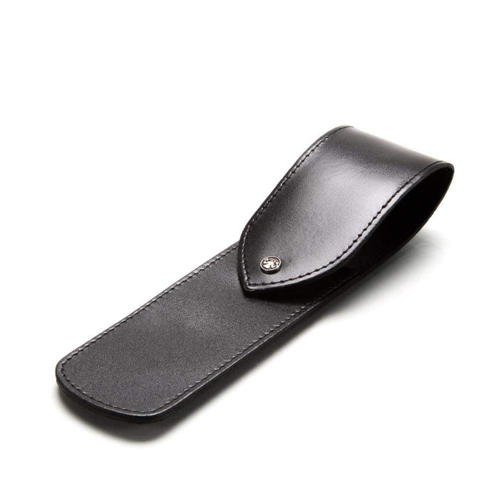 DOVO Leather Straight Razor Case-Black