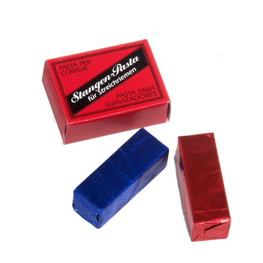Dovo Red & Black Two-Part Strop Paste Set-