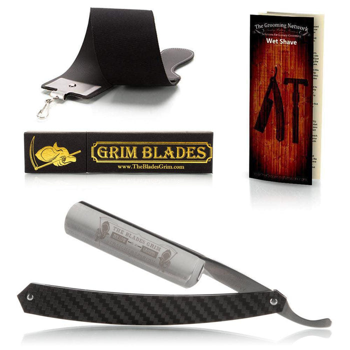 DOVO Blades Grim Straight Razor Luxury Set