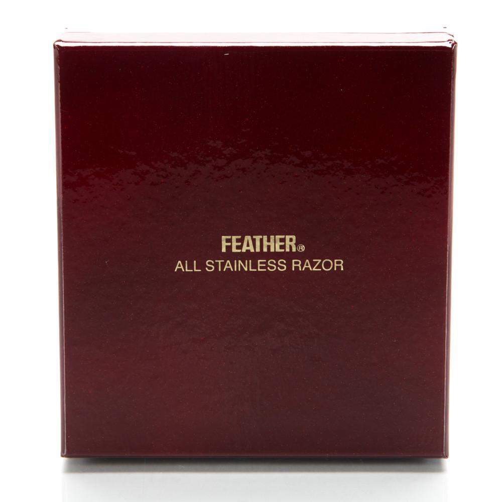 Feather All Stainless DE Safety Razor-