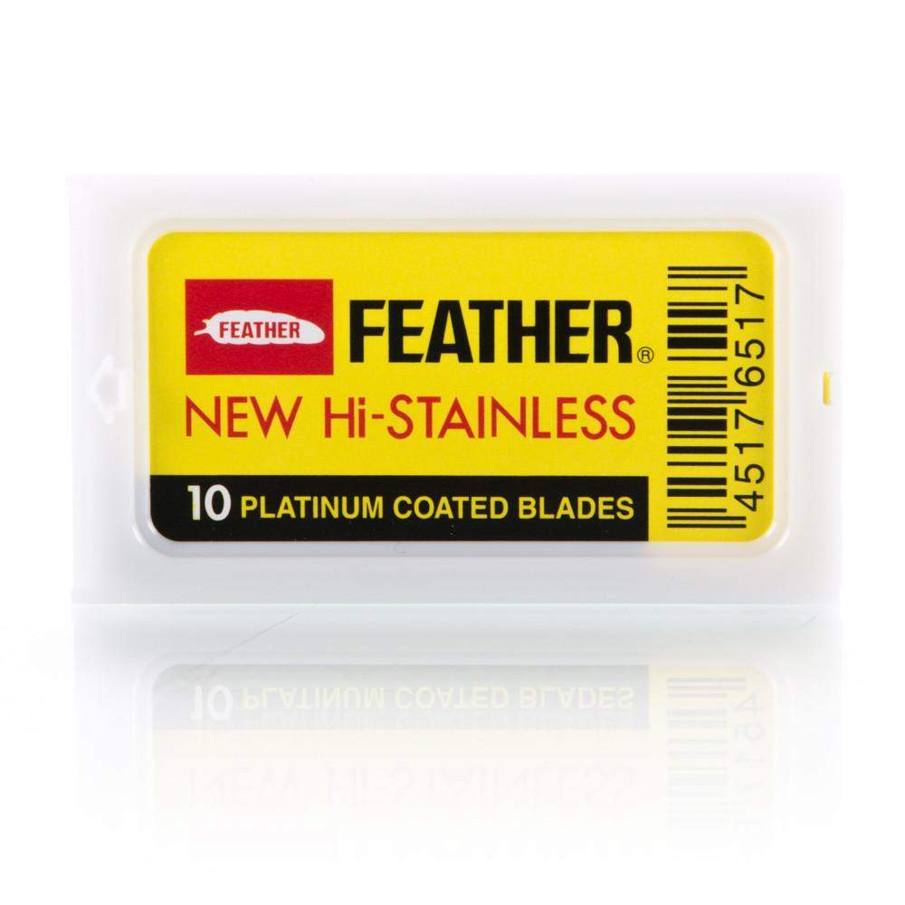 Feather Double Edge Blades-100 pc set (10 packs of 10)-