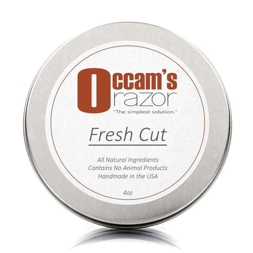 "Fresh Cut - 4 oz Occam's Razor 3"" Shave Soap-"