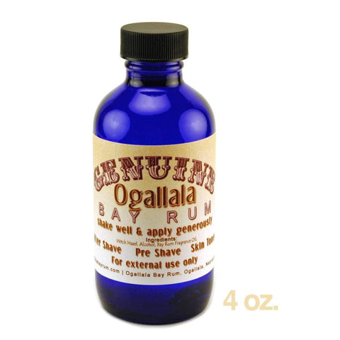 Genuine Ogallala Bay Rum Aftershave / Skin Toner-4 oz