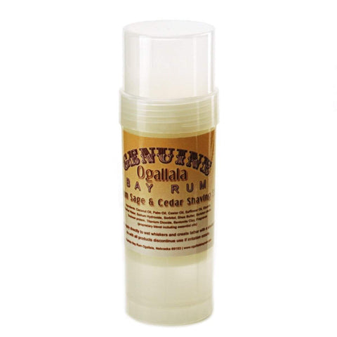 Genuine Ogallala Bay Rum Shaving Stick (5 scents)-
