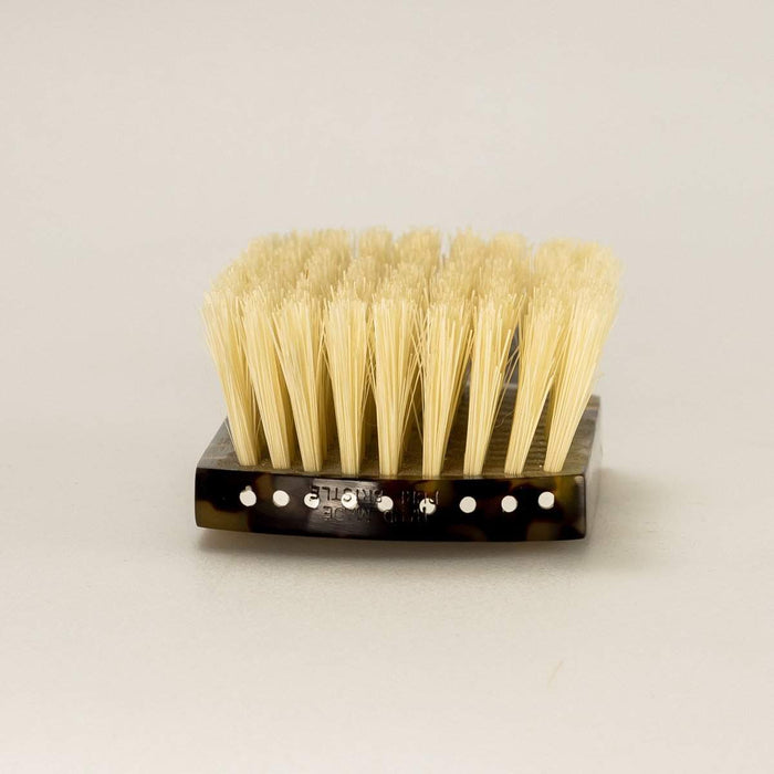 Hand Made Faux Tortoise Club Handle Hair Brush-