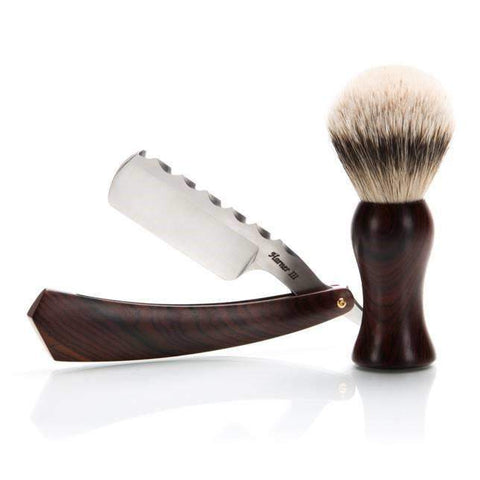 "Harner 6/8"" 'XHP Wedge and Silver Tip Brush Combo-"