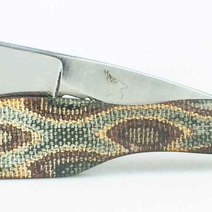 Hart Custom #174: 5/8 Polished Shorty w/ Python Micarta Scales-