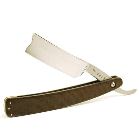 Hart Steel 5/8 Polished Round Straight Razor w/ 1/2 Hollow Grind-