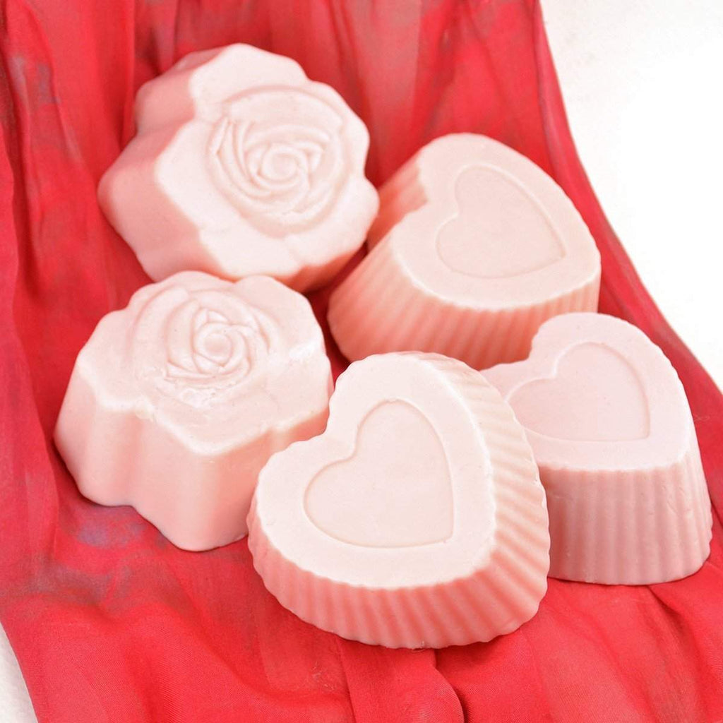 Hearts 'n' Roses Valentine's Day Bath Soap - Heart-Shaped-